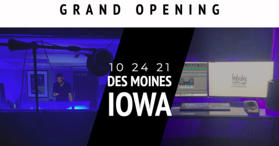 Industry Soundz Des Moines Grand Opening!